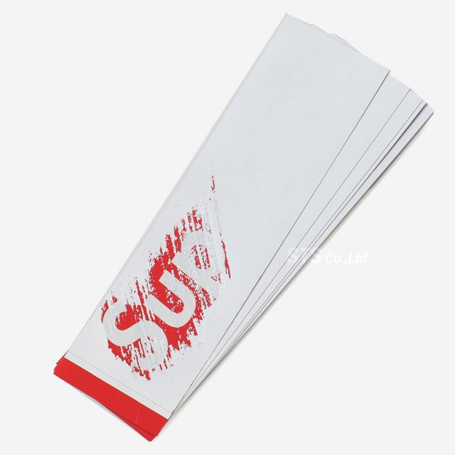【Dead Stock】Supreme - Scratch Off Box Logo Sticker