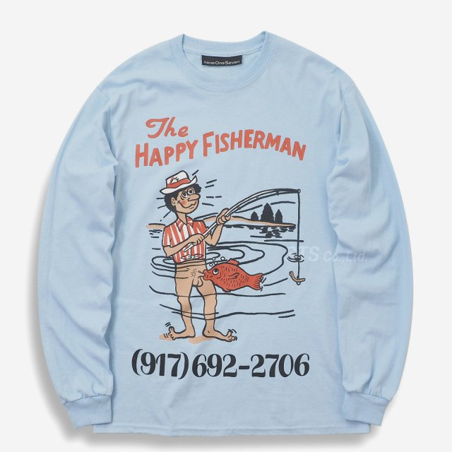 Nine One Seven - Happy Fisherman Long Sleeve T-Shirt