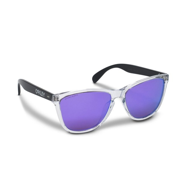 Oakley - Frogskins (A) / Polished Clear Prizm Violet 35th