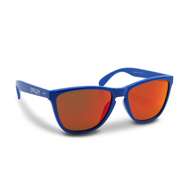 Oakley - Frogskins (A) / Primary Blue Prizm Ruby