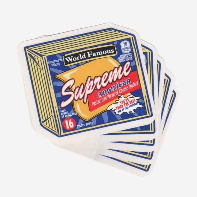 【Dead Stock】Supreme - Cheese Sticker