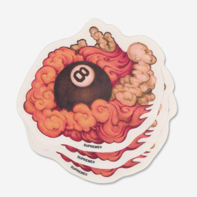 【Dead Stock】Martin Wong/Supreme 8-Ball Sticker