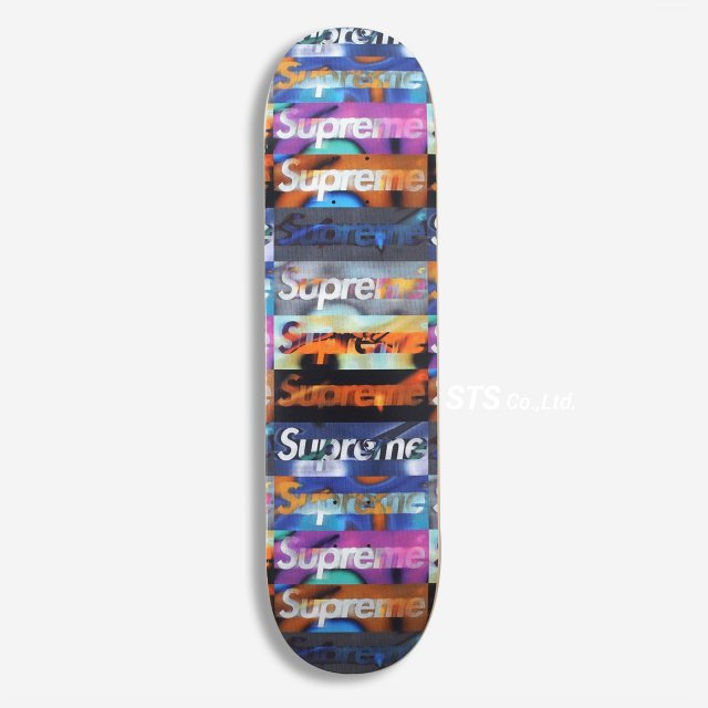 Supreme - Distorted Logo Skateboard