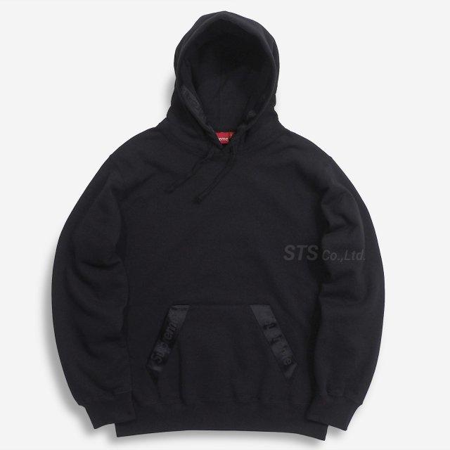 Supreme - Tonal Webbing Hooded Sweatshirt