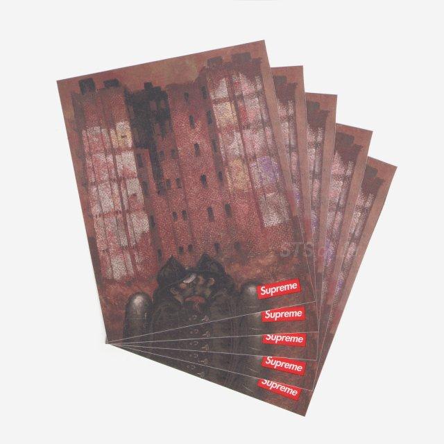 【Dead Stock】Martin Wong/Supreme Big Heat Sticker