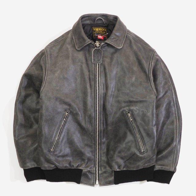 Supreme/Vanson Worn Leather Jacket