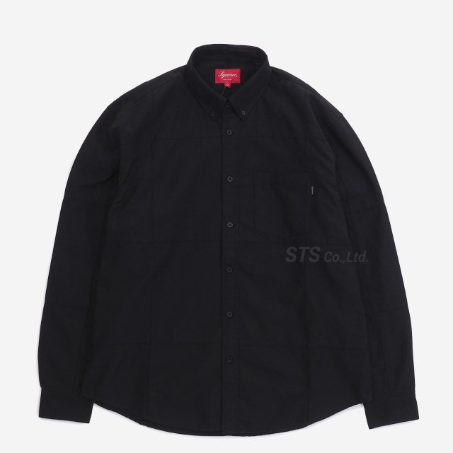 Supreme - Patchwork Oxford Shirt