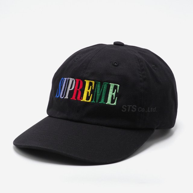 Supreme - Multi Color Logo 6-Panel