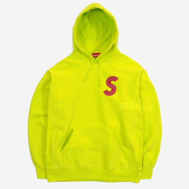 Supreme - S Logo Hooded Sweatshirt