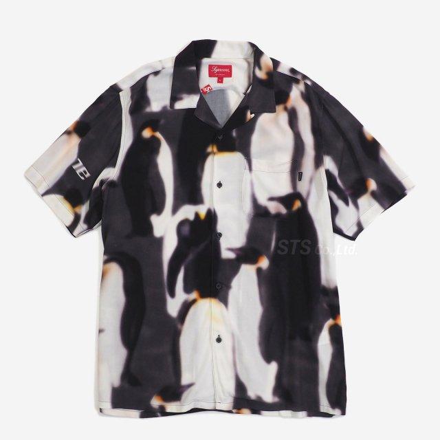 Supreme - Penguins Rayon S/S Shirt