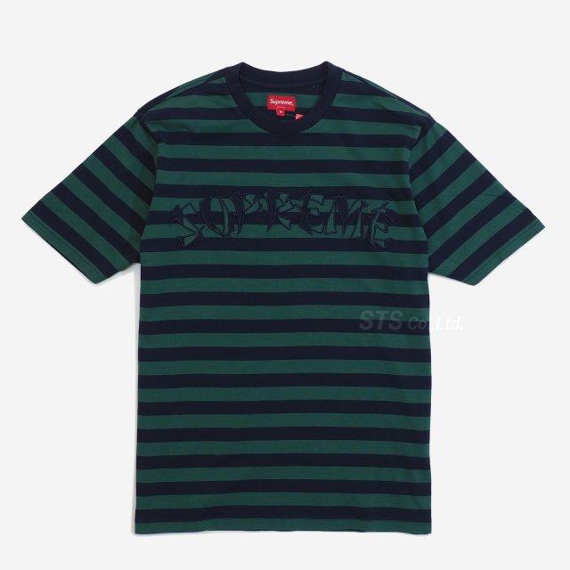 Supreme - Stripe Applique S/S Top