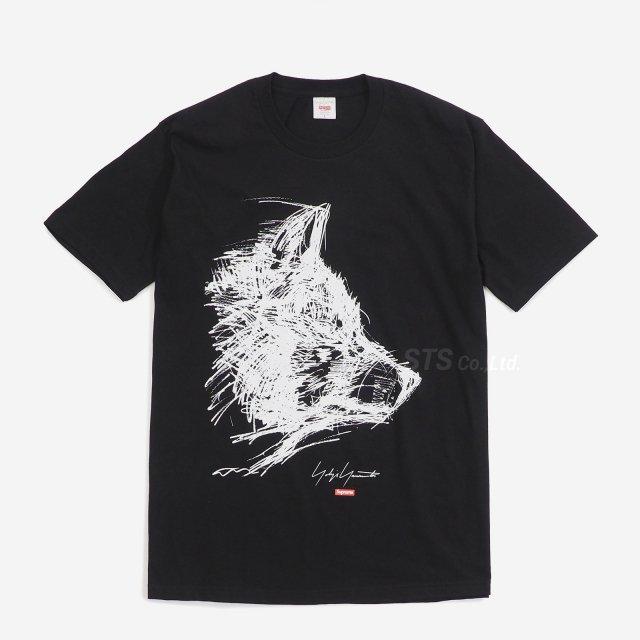 Supreme/Yohji Yamamoto Scribble Wolf Tee