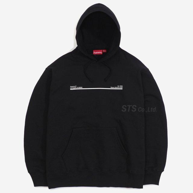 Supreme - Shop Hooded Sweatshirt - Los Angeles