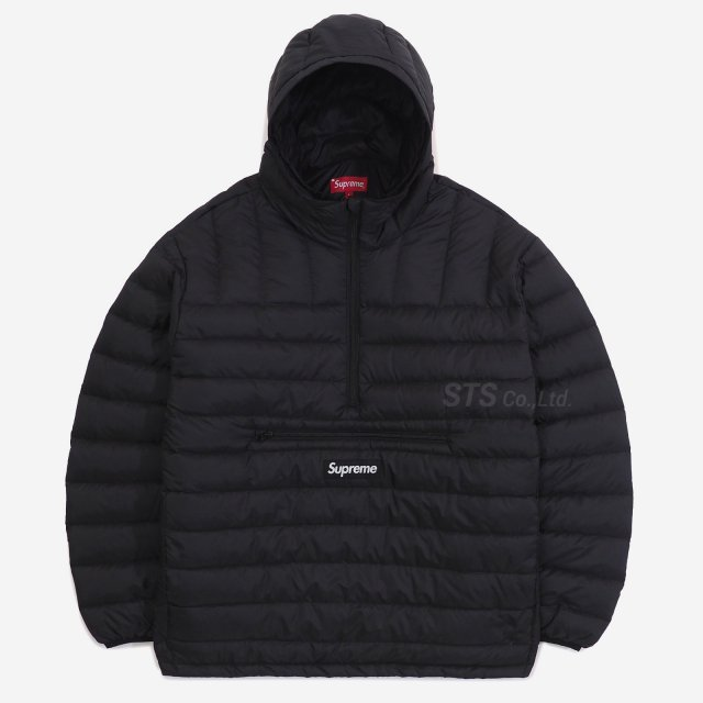 Supreme - Micro Down Half Zip Hooded Pullover