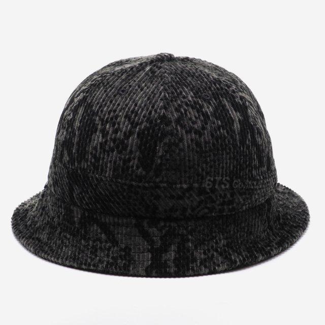 Supreme - Snakeskin Corduroy Bell Hat