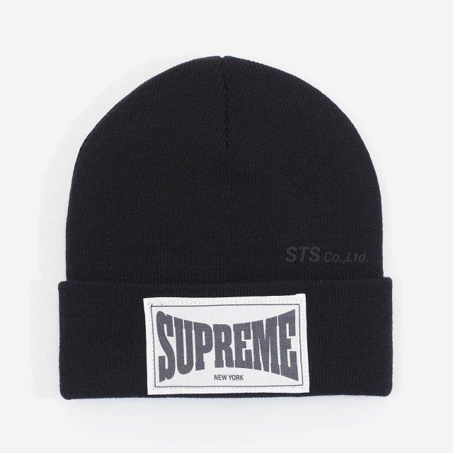 Supreme - Woven Label Beanie