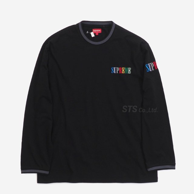 Supreme - Multi Color Logo L/S Top