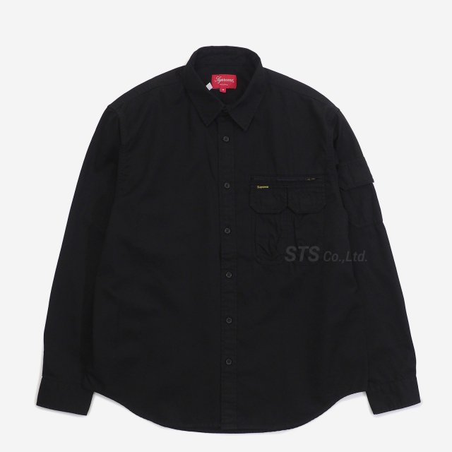 Supreme - Twill Multi Pocket Shirt