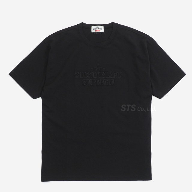Supreme/Stone Island Embroidered Logo S/S Top