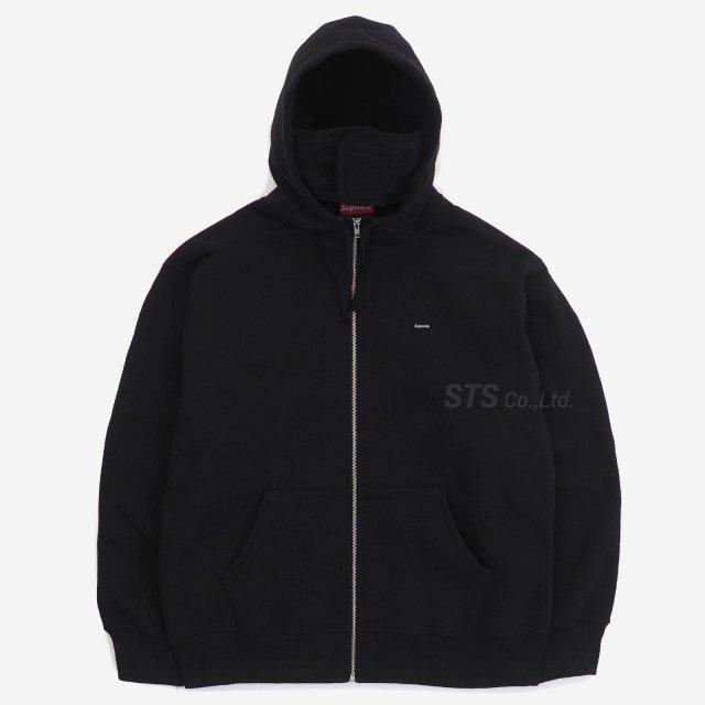 Supreme - Small Box Facemask Zip Up Hooded Sweatshirt