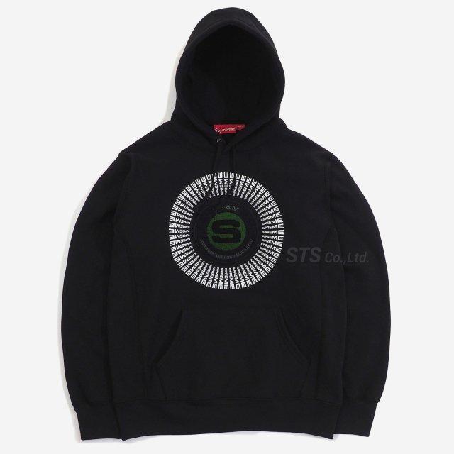 Supreme - Chenille Applique Hooded Sweatshirt