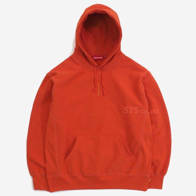 Supreme - Micro Logo Hooded Sweatshirt