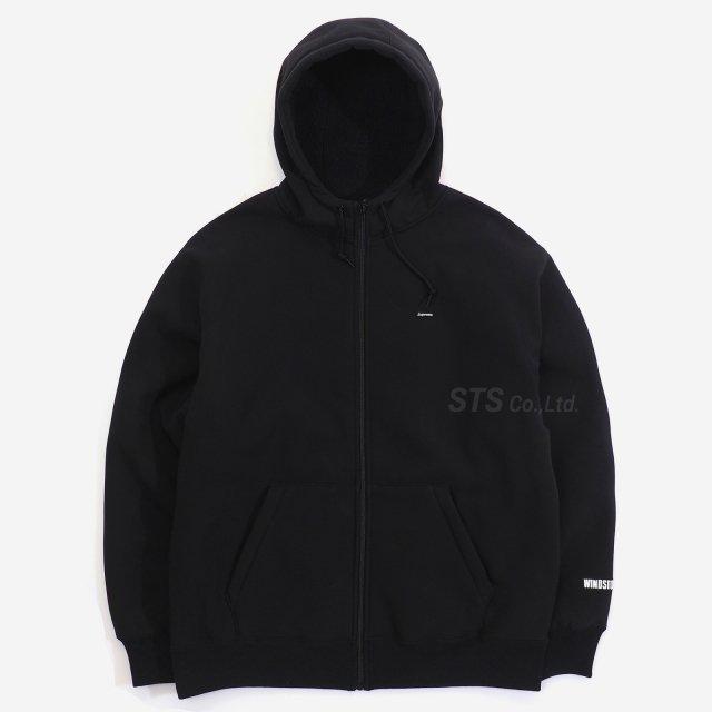 Supreme - WINDSTOPPER Zip Up Hooded Sweatshirt