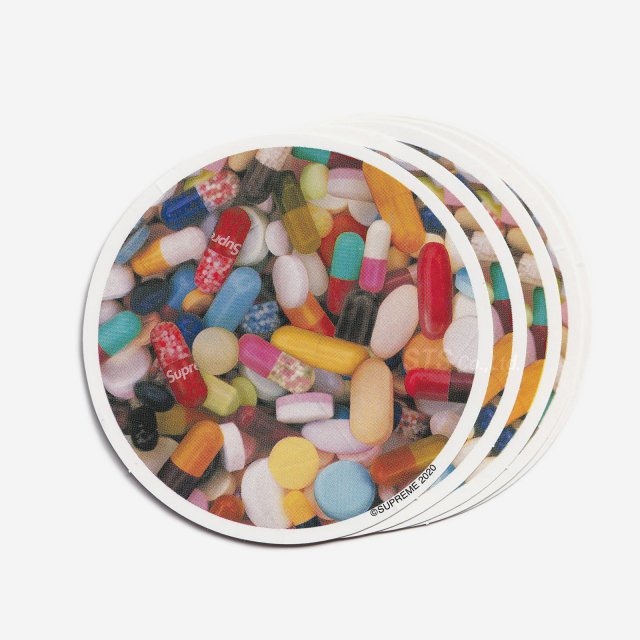 Supreme - Pills Sticker