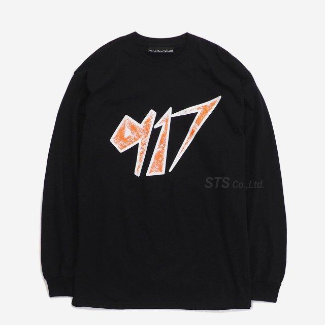 Nine One Seven - Space Longsleeve T-Shirt