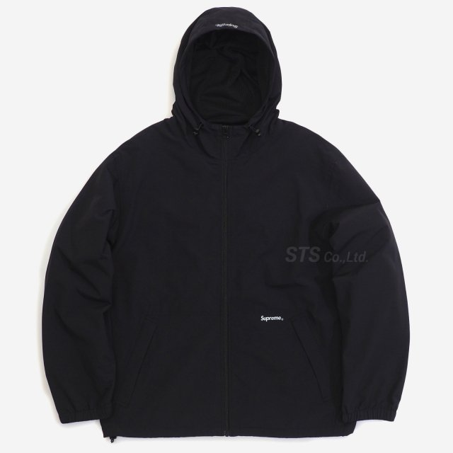 Supreme - Reflective Zip Hooded Jacket