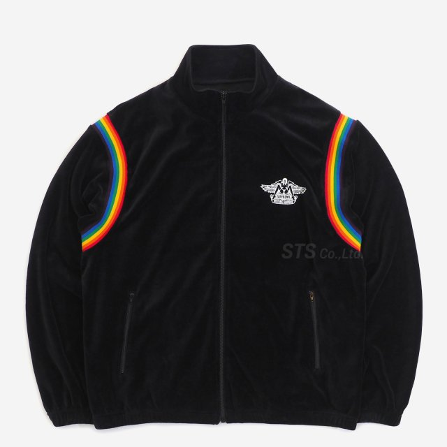 Supreme/Hysteric Glamour Velour Track Jacket