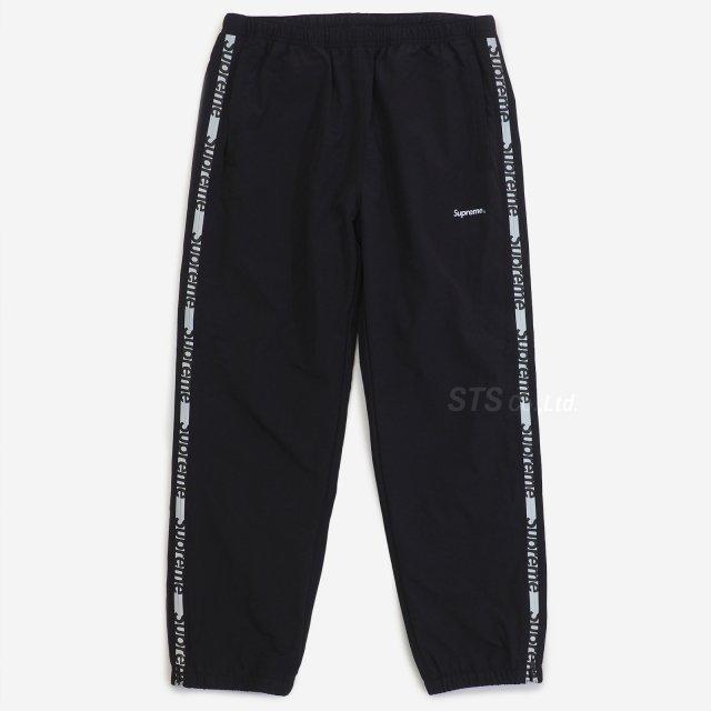 Supreme - Reflective Zip Track Pant