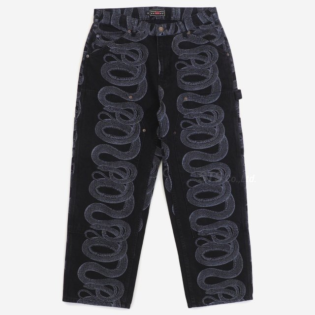 Supreme/Hysteric Glamour Snake Double Knee Denim Pant