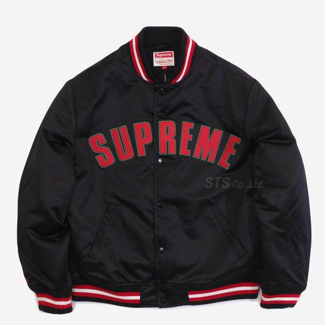 Supreme/Mitchell & Ness Satin Varsity Jacket