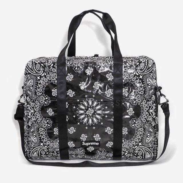 【SALE】Supreme - Bandana Tarp Large Duffle Bag