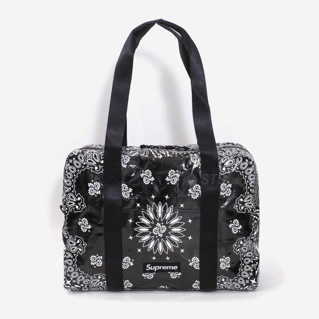Supreme - Bandana Tarp Small Duffle Bag