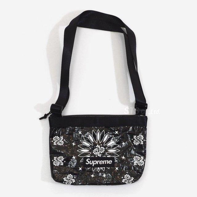 【SALE】Supreme - Bandana Tarp Side Bag