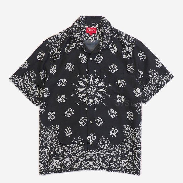 Supreme - Bandana Silk S/S Shirt