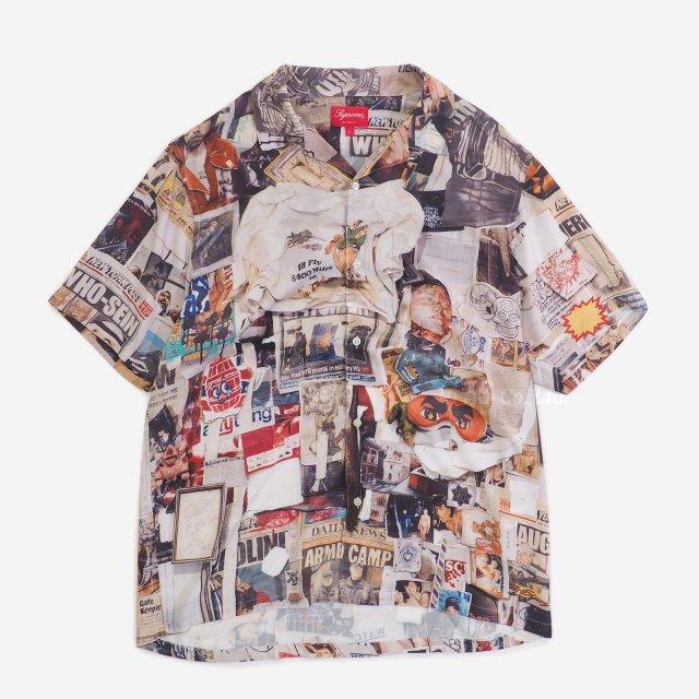 Supreme - Dash's Wall Rayon S/S Shirt