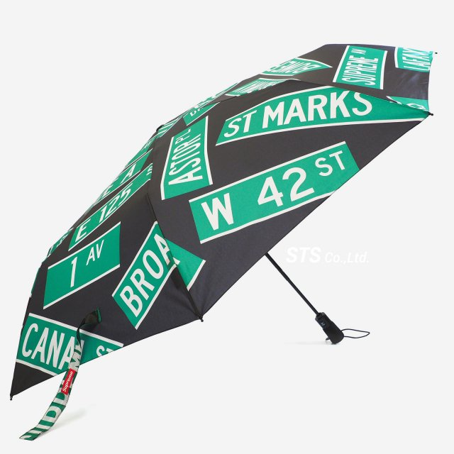 Supreme/ShedRain Street Signs Umbrella