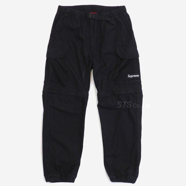 【SALE】Supreme - Mesh Pocket Belted Cargo Pant
