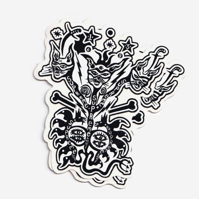 【SALE】Supreme - Clayton Patterson Sticker