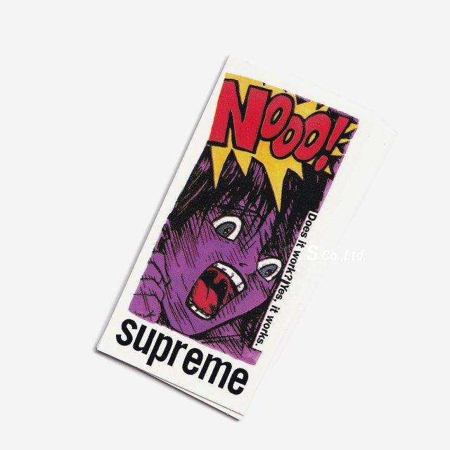 【SALE】Supreme - Does It Work Sticker