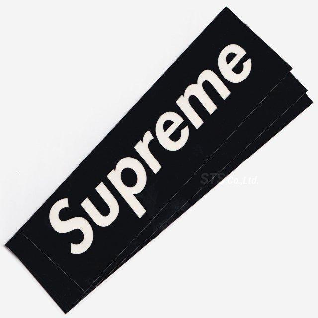 Supreme - Clear Vinyl Box Logo Sticker