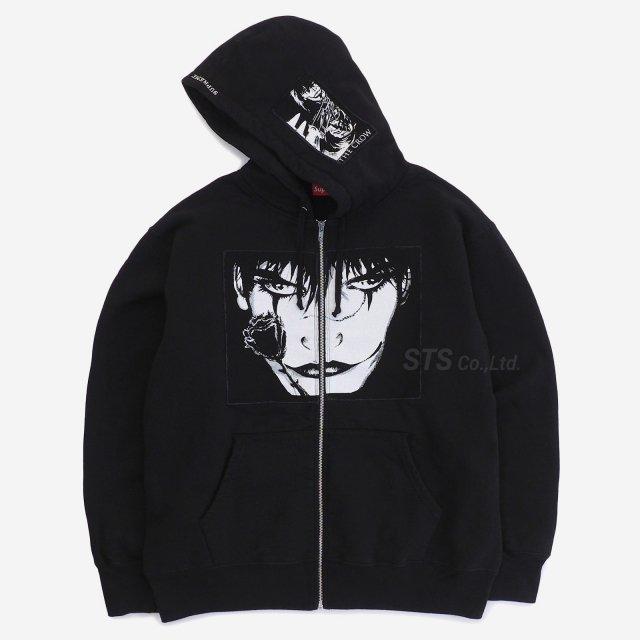 Supreme/The Crow Zip Up Hooded Sweatshirt