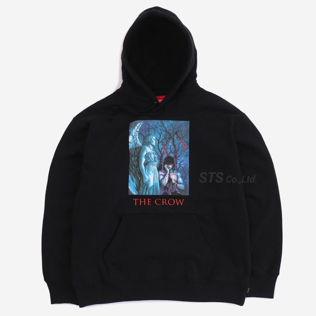 Supreme/The Crow Hooded Sweatshirt