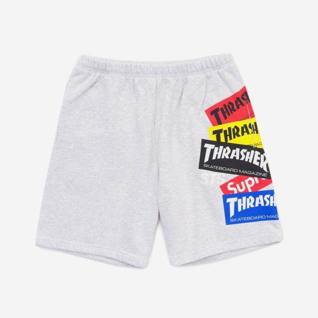 Supreme/Thrasher Multi Logo Sweatshort