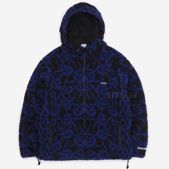 Supreme - Celtic Knot Reversible WINDSTOPPER Fleece Hooded Jacket