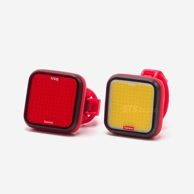 Supreme/Knog Blinder Bicycle Lights (Set of 2)