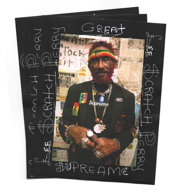 Supreme - Lee Scratch Perry Sticker - Black